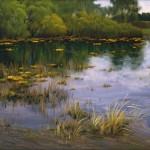 """Ю.М. Арсенюк """"Весна"""" 2006 г. 130x50"""